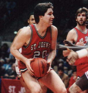Chris Mullin who played for St. John's in 1981-1985 appears on ten of the Top-10 Career Leader lists and is considered to be one of the best players to ever put on a St. John's jersey.