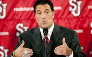St. John's announces Steve Lavin as head mens basketball coach.   Original Filename: _HS93385.jpg